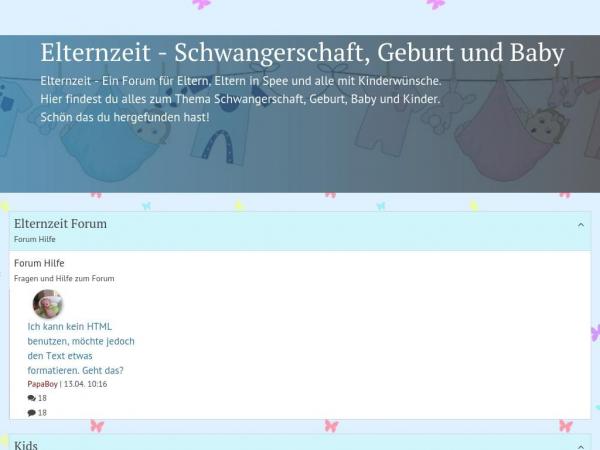elternzeit-forum.com